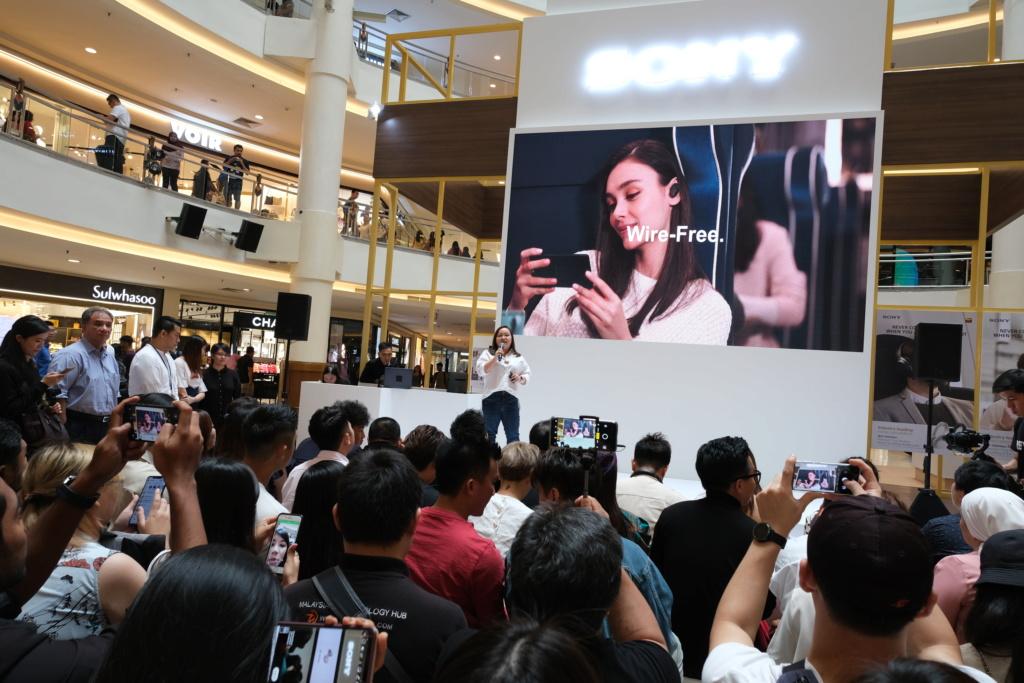 Sony Malaysia launches WF-1000XM3 wireless NC headphones Dscf0310