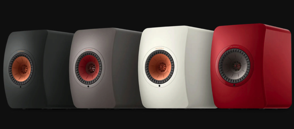 KEF LS50 Wireless II speakers - now playing at Perfect Hi-Fi Kef_ls10