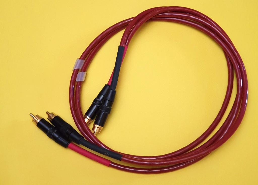 Nordost Red Dawn LS interconnects, RCA (sold) and XLR (sold) Nordos15