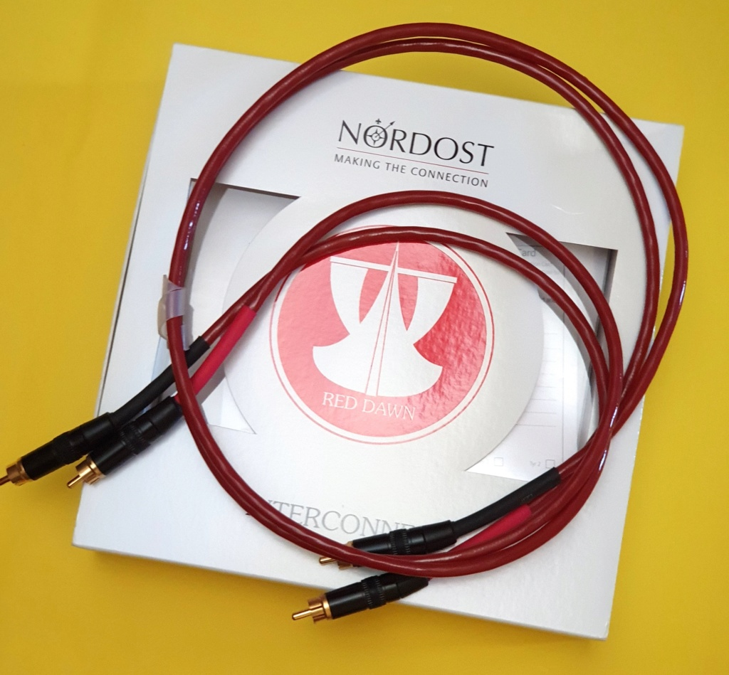Nordost Red Dawn LS interconnects, RCA (sold) and XLR (sold) Nordos16