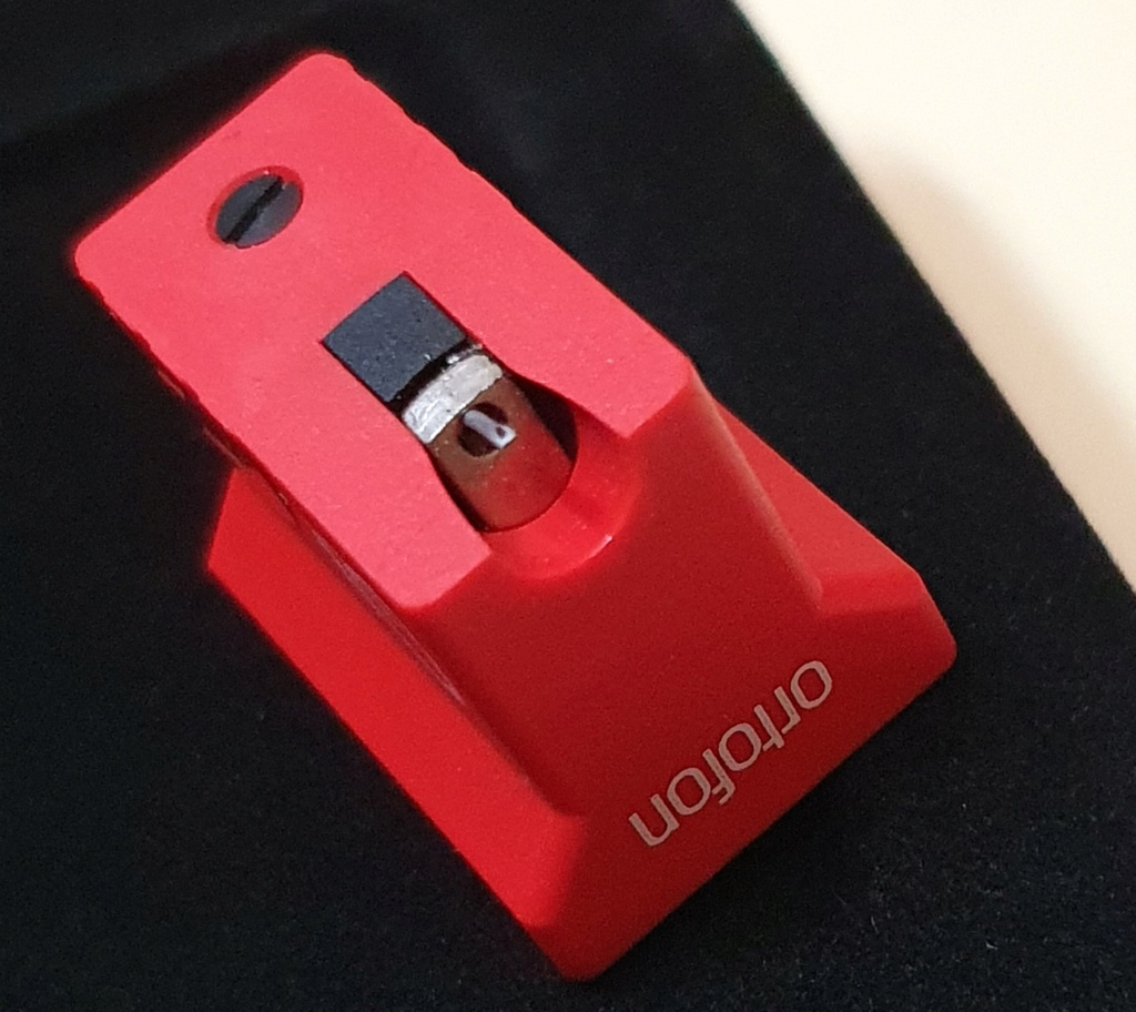 Ortofon MC Quintet Red phono cartridge (used)- SOLD Ortofo11