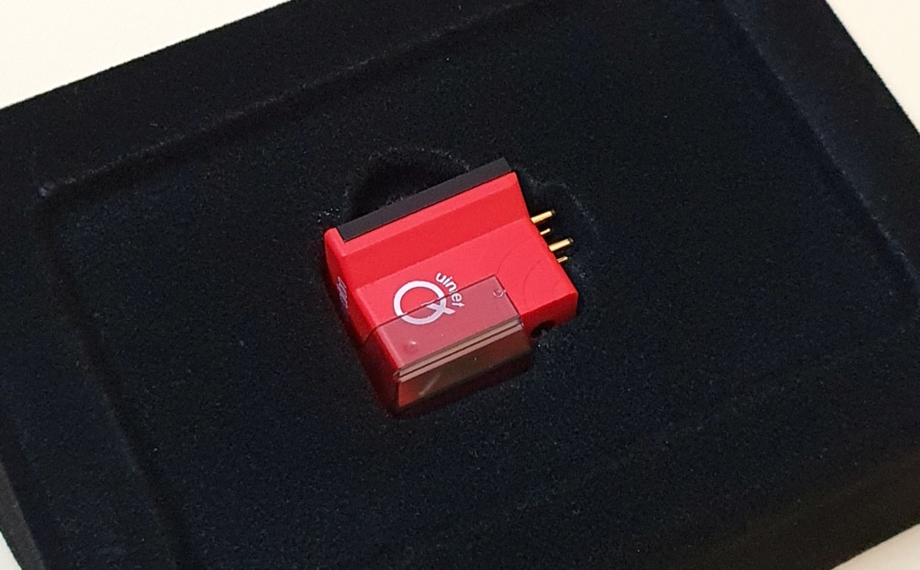 Ortofon MC Quintet Red phono cartridge (used)- SOLD Ortofo12