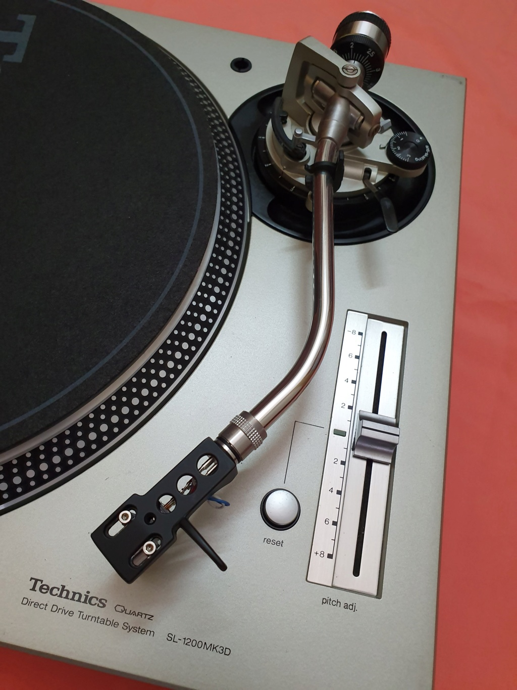 Technics SL1200MK3D turntable (used) SOLD Techni13