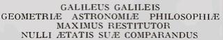 Galileo Galilei : État de la question. Image_10