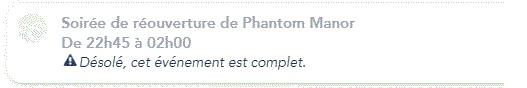 [Soirée] Grande Réouverture de Phantom Manor (30 avril 2019) - Page 2 Soiree10
