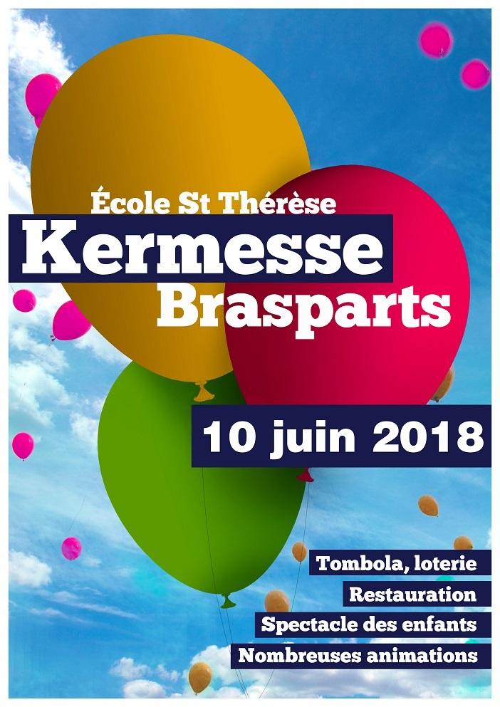 Kermesse de l'école Ste Thérèse Affich10