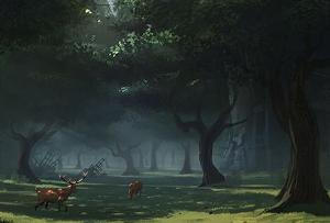 Forêt du grand noyé