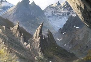 Montagnes écorchées
