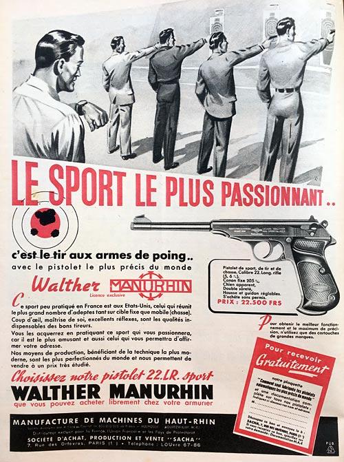 Anciennes publicités Walther Pub-wa10