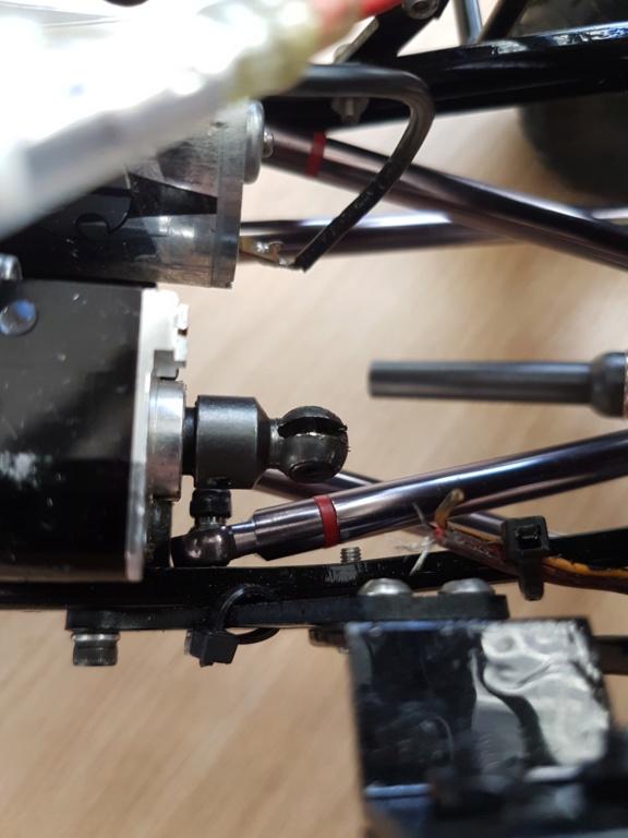 Cardan de transmission plastique ou métal sur scx10 Scale Trial et Crawler 20181132