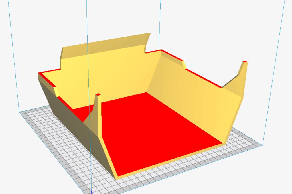 Début d'impression 3D avec l'imprimante sur la CR10S Captur21