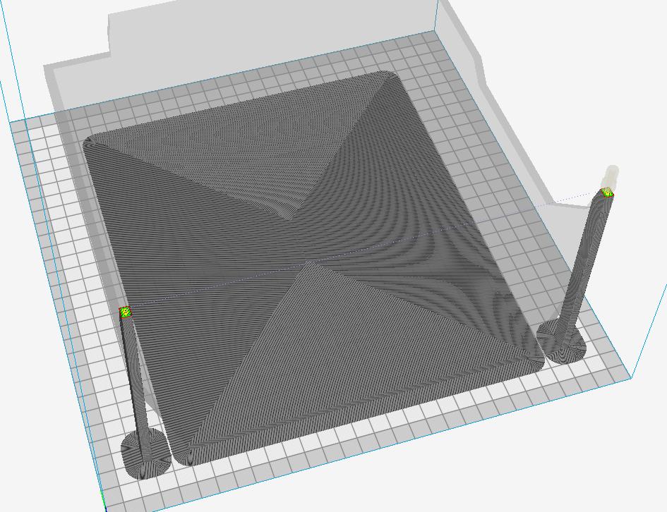 Début d'impression 3D avec l'imprimante sur la CR10S Captur22