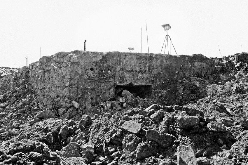 Le bunker du Führer reconstitué à Berlin Bunkj10