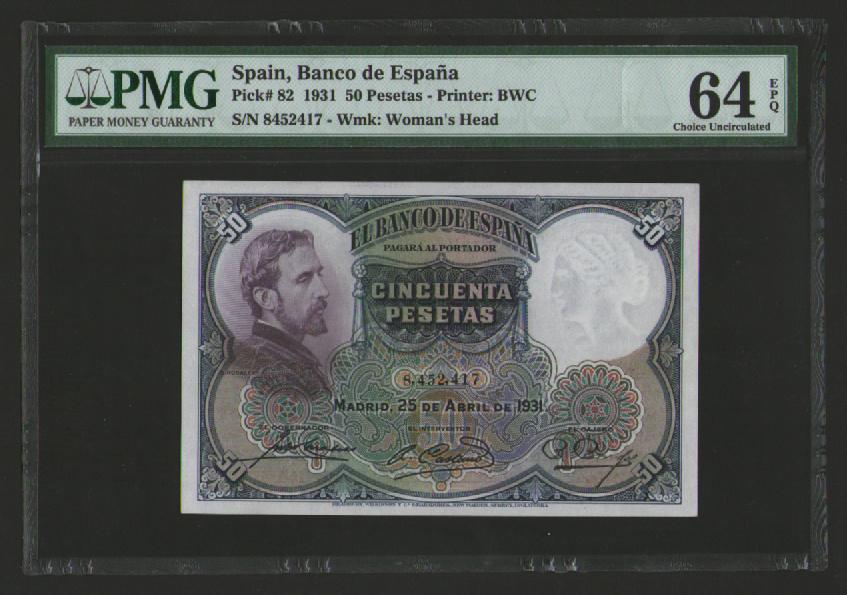 ¿Rareza pasada por alto? 50 pesetas 1931 - Rosales SC 6610