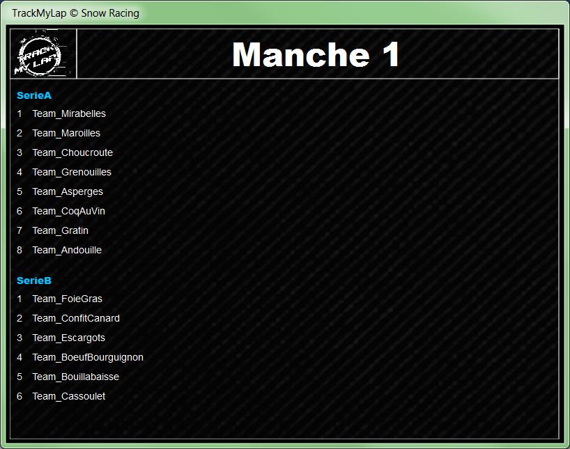 L'interface utilisateur 0218