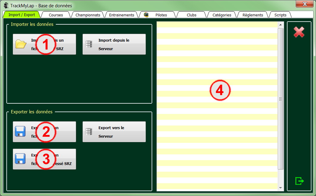 L'interface utilisateur 0313