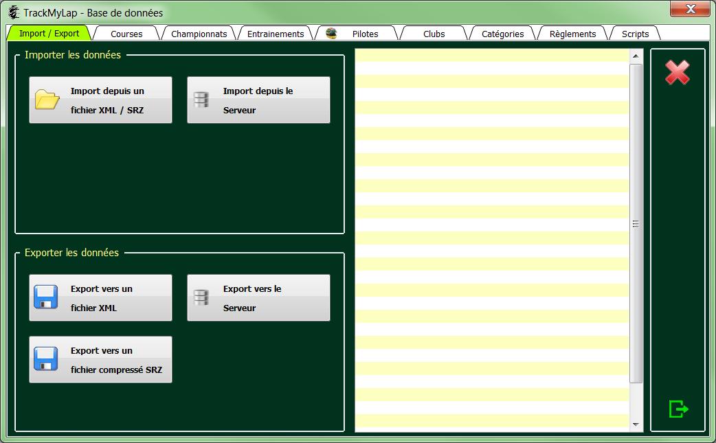 L'interface utilisateur 0411