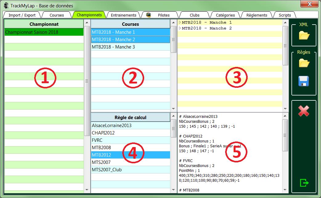 L'interface utilisateur 0612