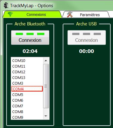 L'interface utilisateur 0711