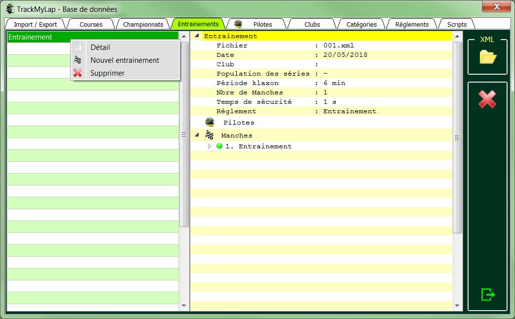 L'interface utilisateur 0812