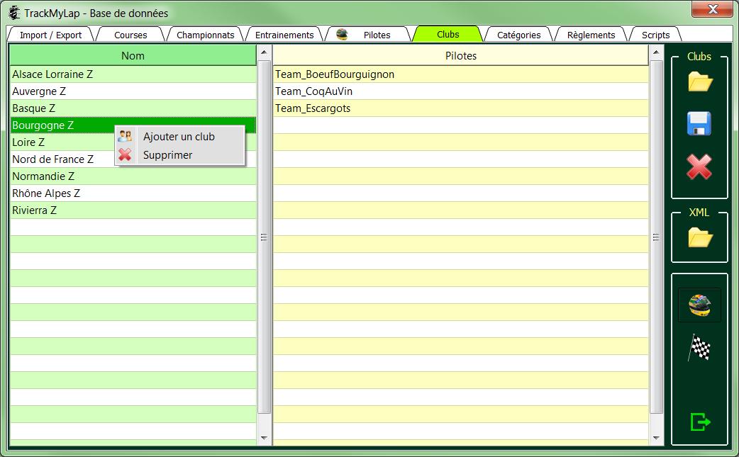 L'interface utilisateur 1610