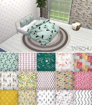 Постельное белье, подушки, одеяла, ширмы и пр. - Страница 4 Utan_105