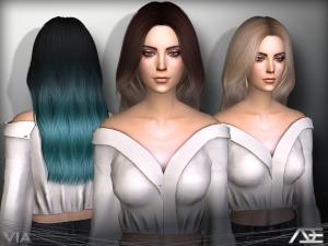 Женские прически (длинные волосы) - Страница 32 Utan_n13
