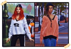 Повседневная одежда (топы, рубашки, свитера) - Страница 55 Utan_n85