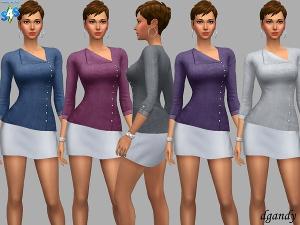 Повседневная одежда (топы, рубашки, свитера) - Страница 25 Uten_137