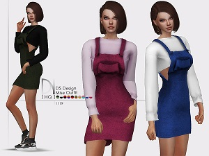 Повседневная одежда (платья, туники)  - Страница 33 Uten_170