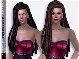 Женские прически (длинные волосы) - Страница 31 Uten_289