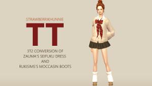 Повседневная одежда (платья, туники, комплекты с юбками) - Страница 67 Uten_354