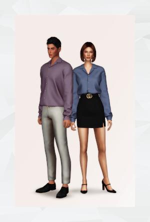 Повседневная одежда (топы, рубашки, свитера) - Страница 58 Uten_468