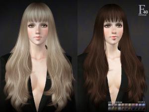 Женские прически (длинные волосы) - Страница 50 Uten_n86