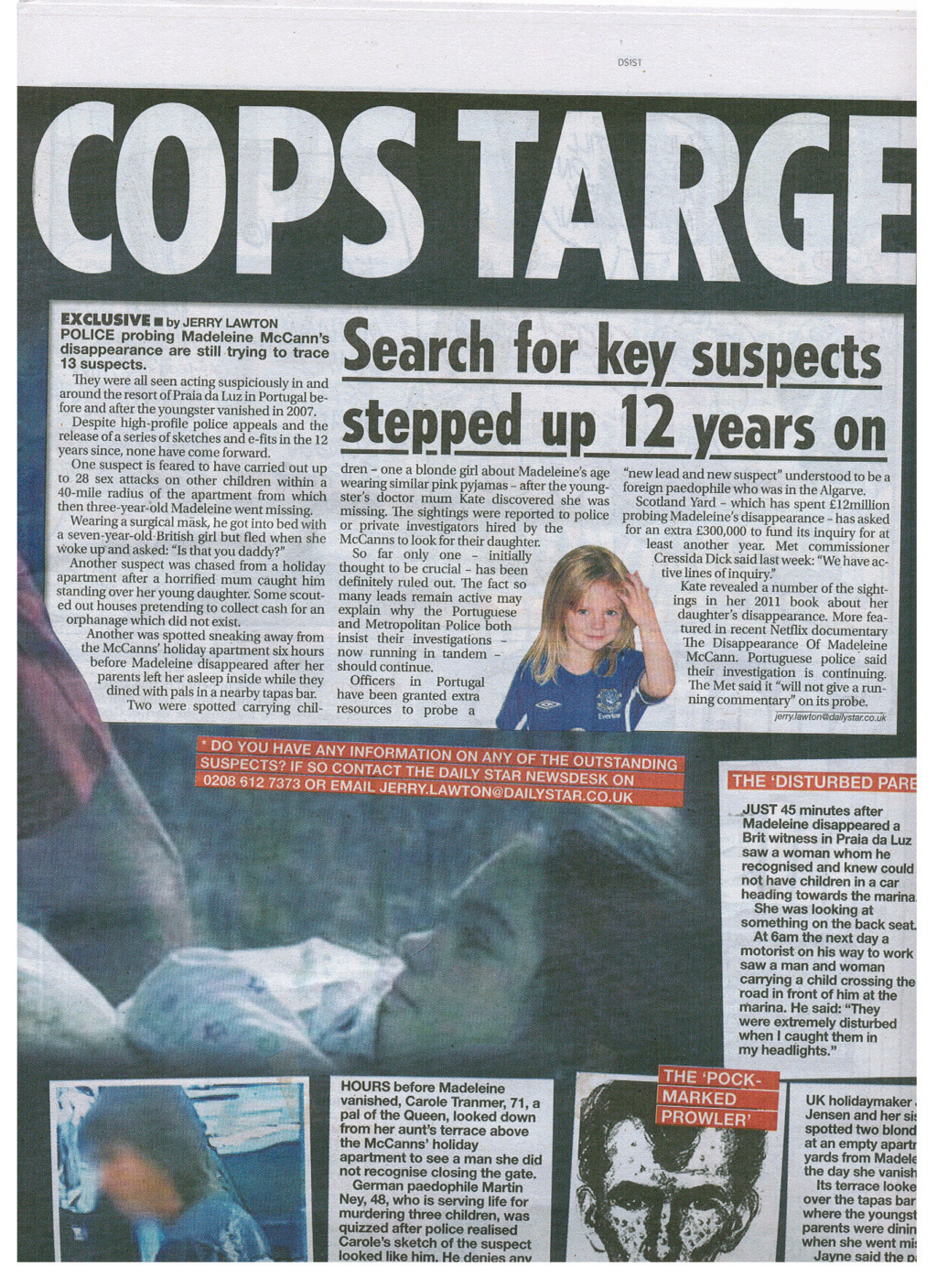 ***NEW! 8 May 2019*** Daily Star says there's THIRTEEN SUSPECTS (The Daily Star:  Madeleine McCann case 'closer to being SOLVED' by Portuguese police) - Page 2 Star_m16