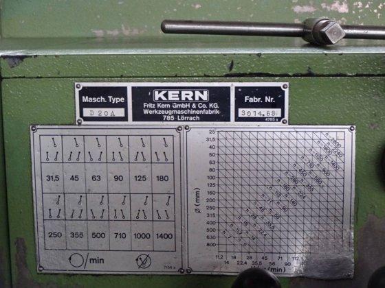 Kern D20 12476510