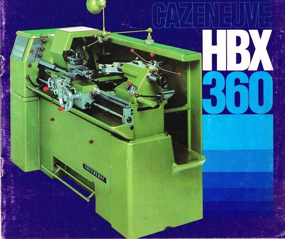 Cazeneuve 360 HBX & HBX 360-I (+ 590 HBX ) Couver10