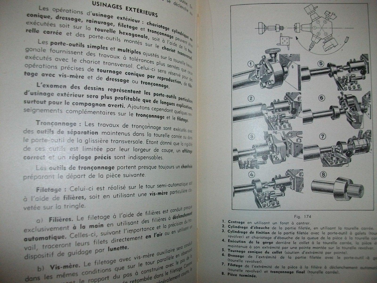 """le """"Nadreau"""": le tour et la fraiseuse Nad110"""
