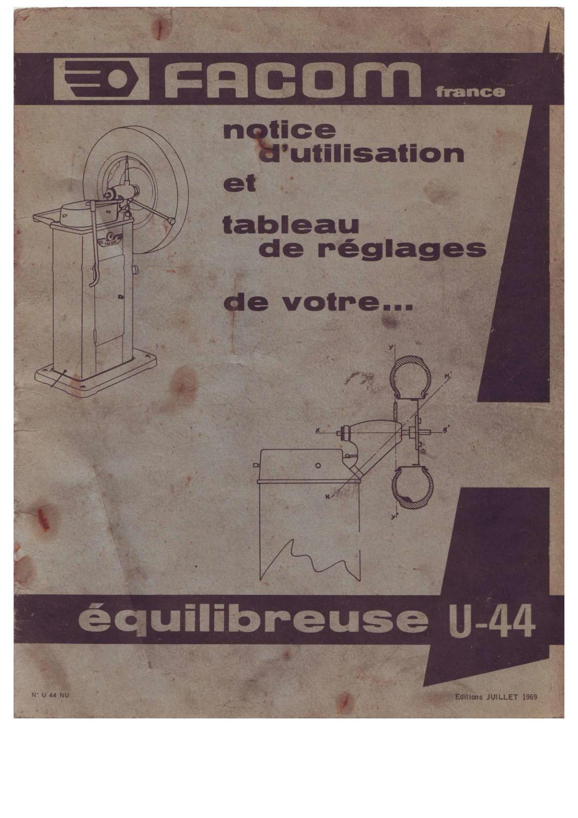 Equilibreuse Facom U-44 Uw110