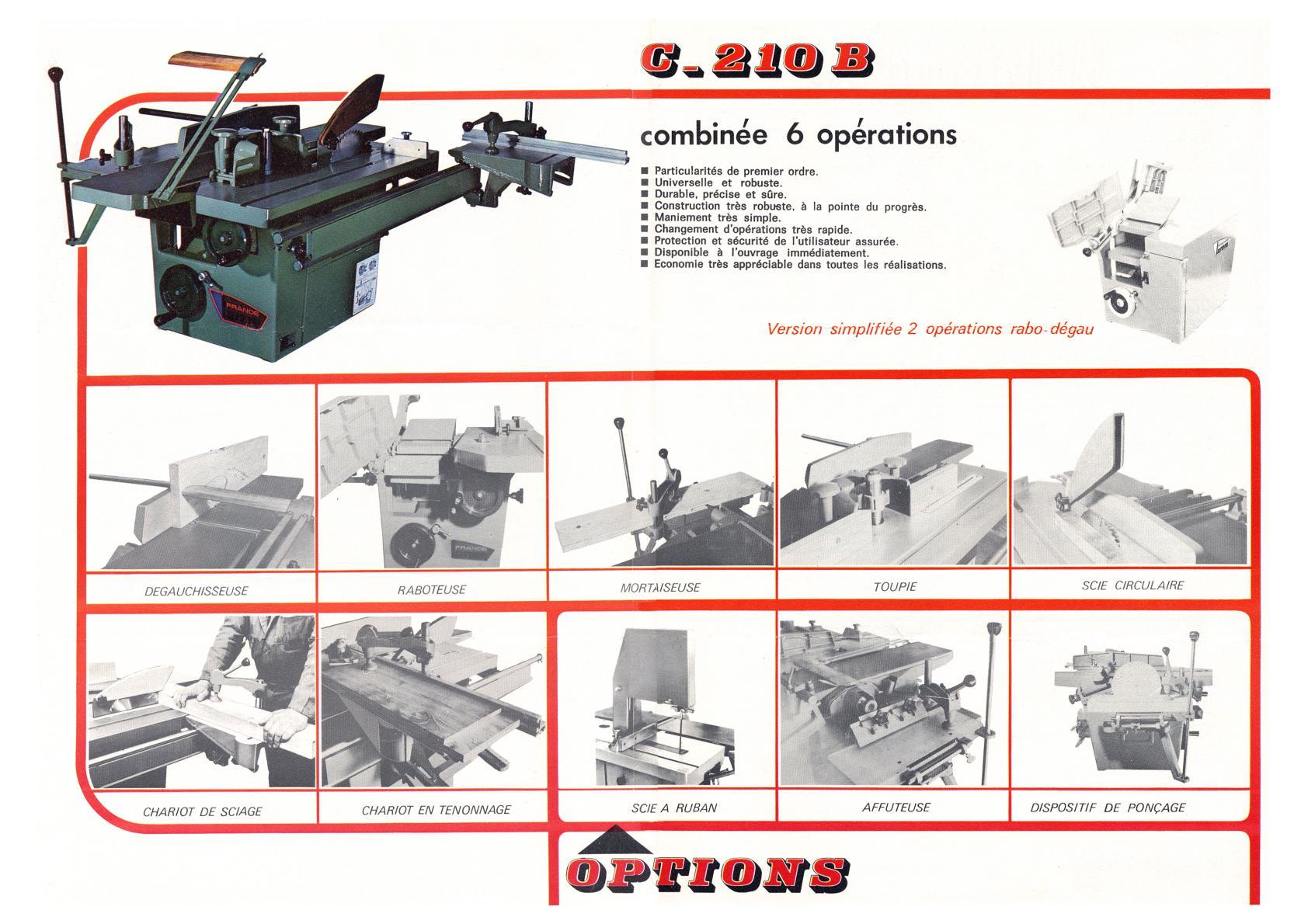 Lurem C 200 junior, C 200, C 210, C 210 b,  C 260 + C 260E & C 310E Uw167