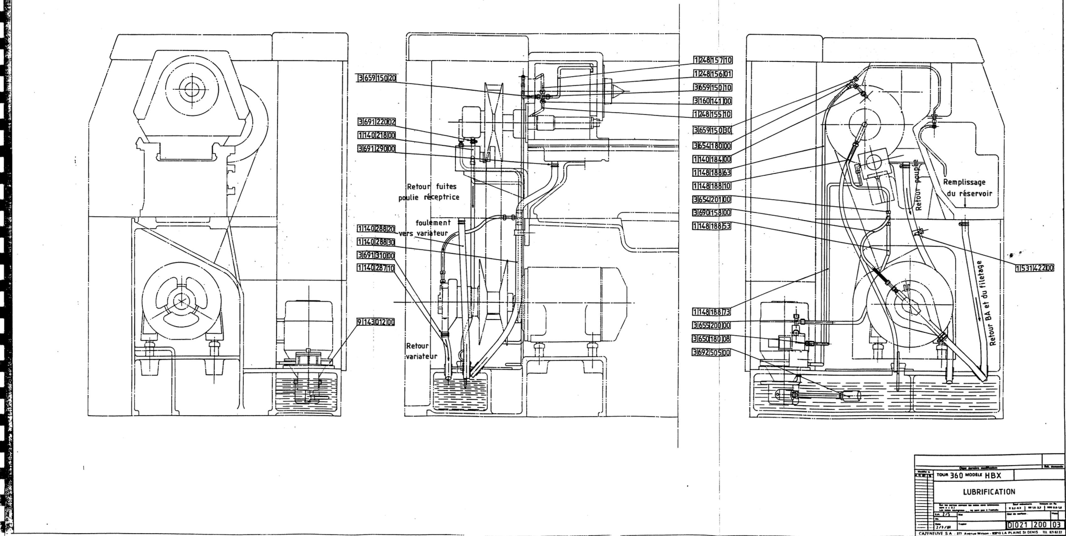 Suppression du variateur Cazeneuve HBX 360 [DEMONTAGE] Uw811