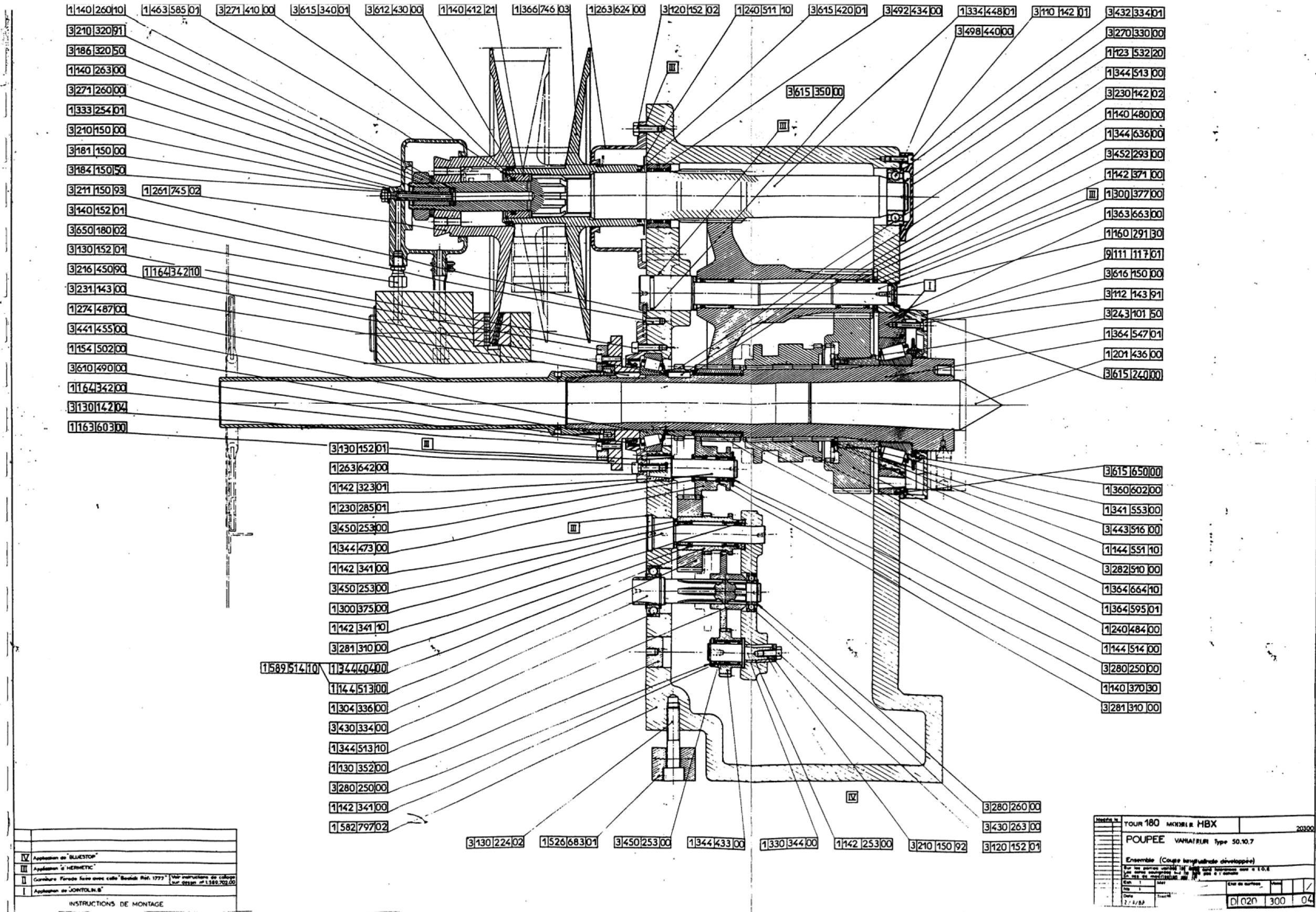 Suppression du variateur Cazeneuve HBX 360 [DEMONTAGE] Uw911