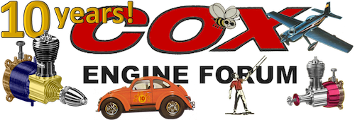 Cox Engines Forum