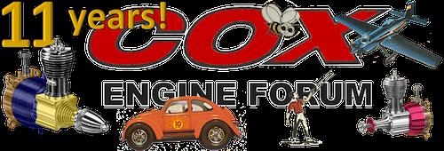 Cox Engines Forum