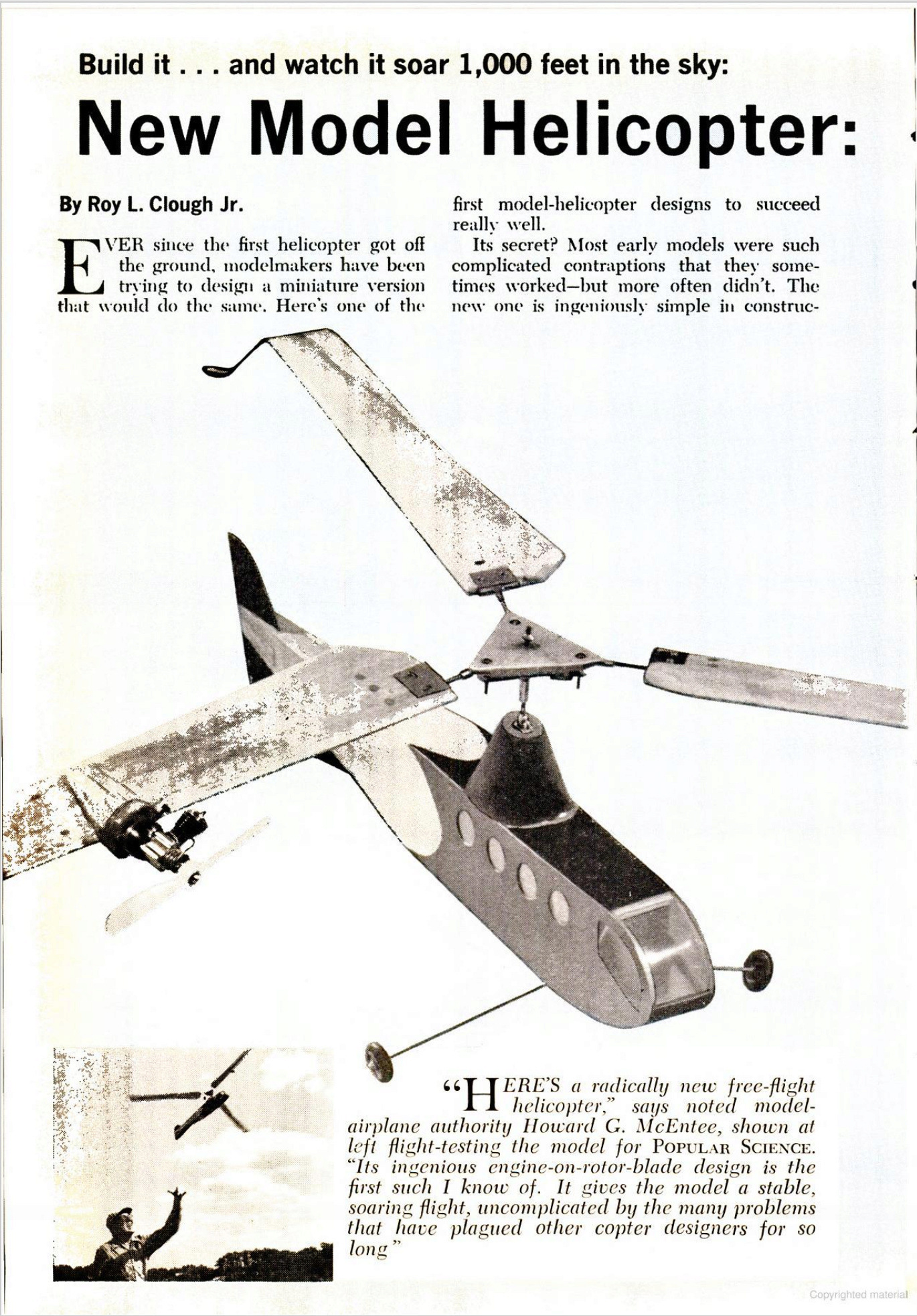 New Model Helicopter - 1962 Cox_he12