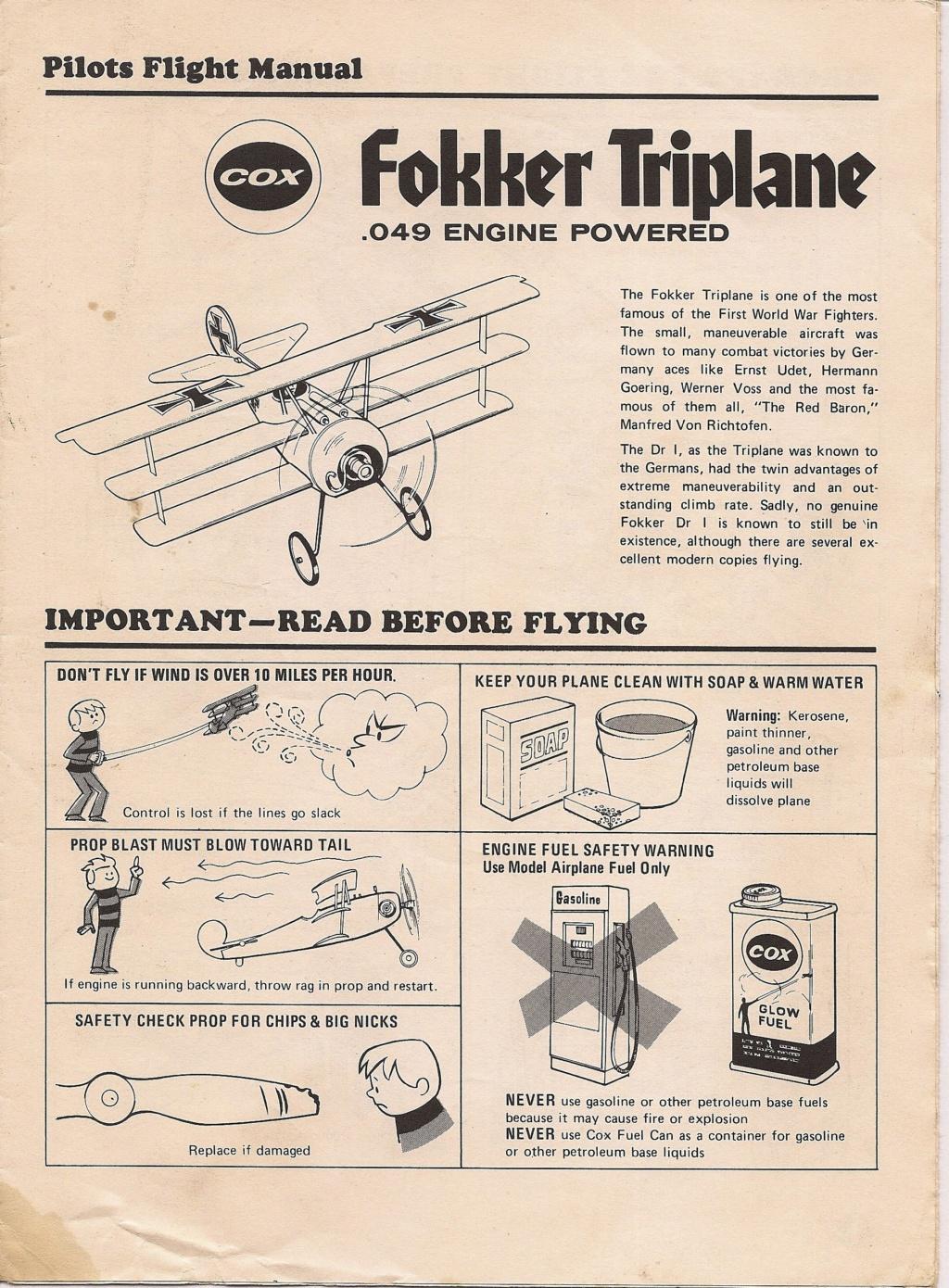 Fokker Triplane Flight Manual Fokker10