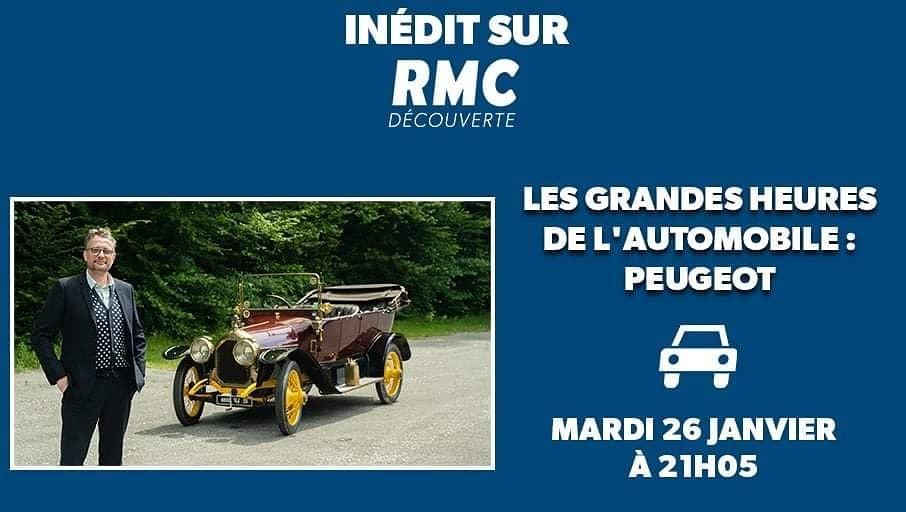 RMC Découverte - 26.01.21 - Les Grandes Heures Auto Peugeot  13666710