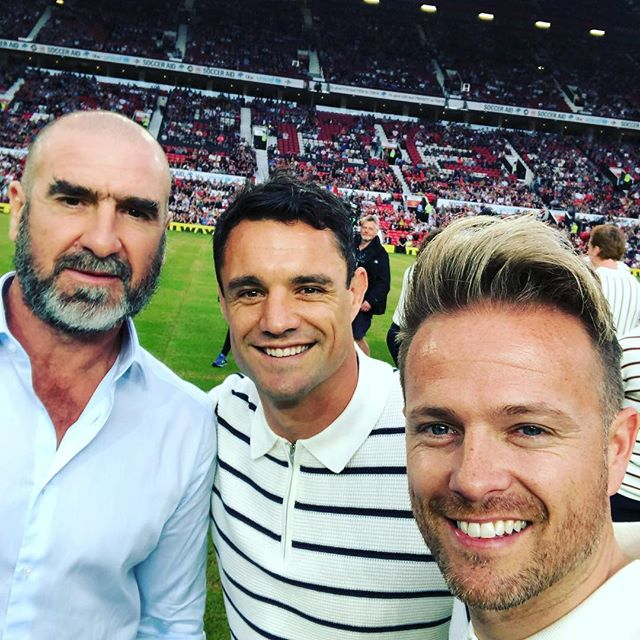 The Soccer Aid game!! 33880210