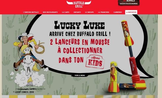 Lucky Luke au Buffalo Grill Buffal10