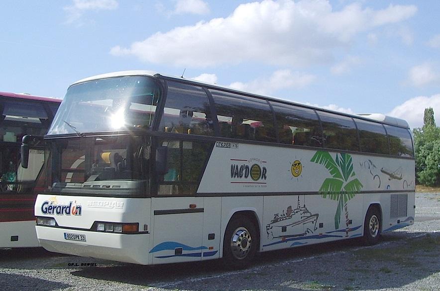 GROUPE GÉRARDIN (Gérardin Autocars, Voyages Castéran et Cars Évasion) Cityli10